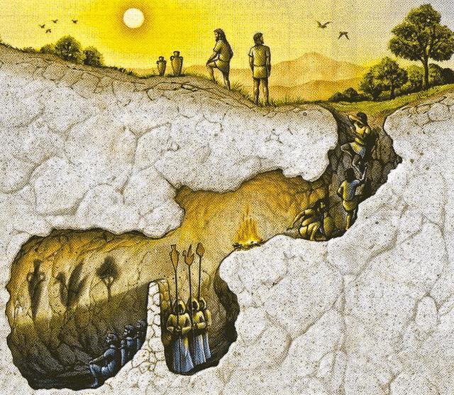 cave of plato.