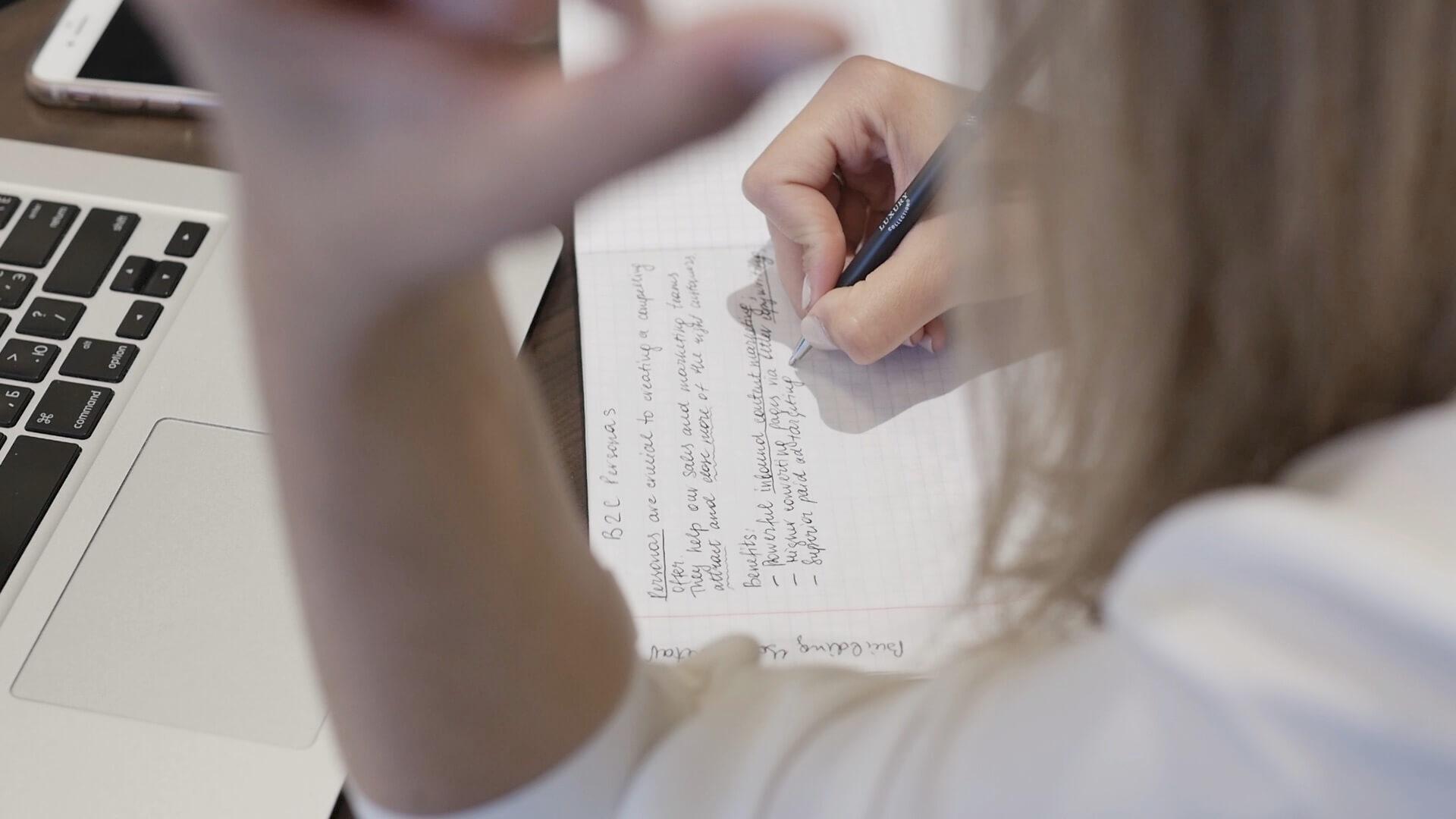 Valeriya Writing