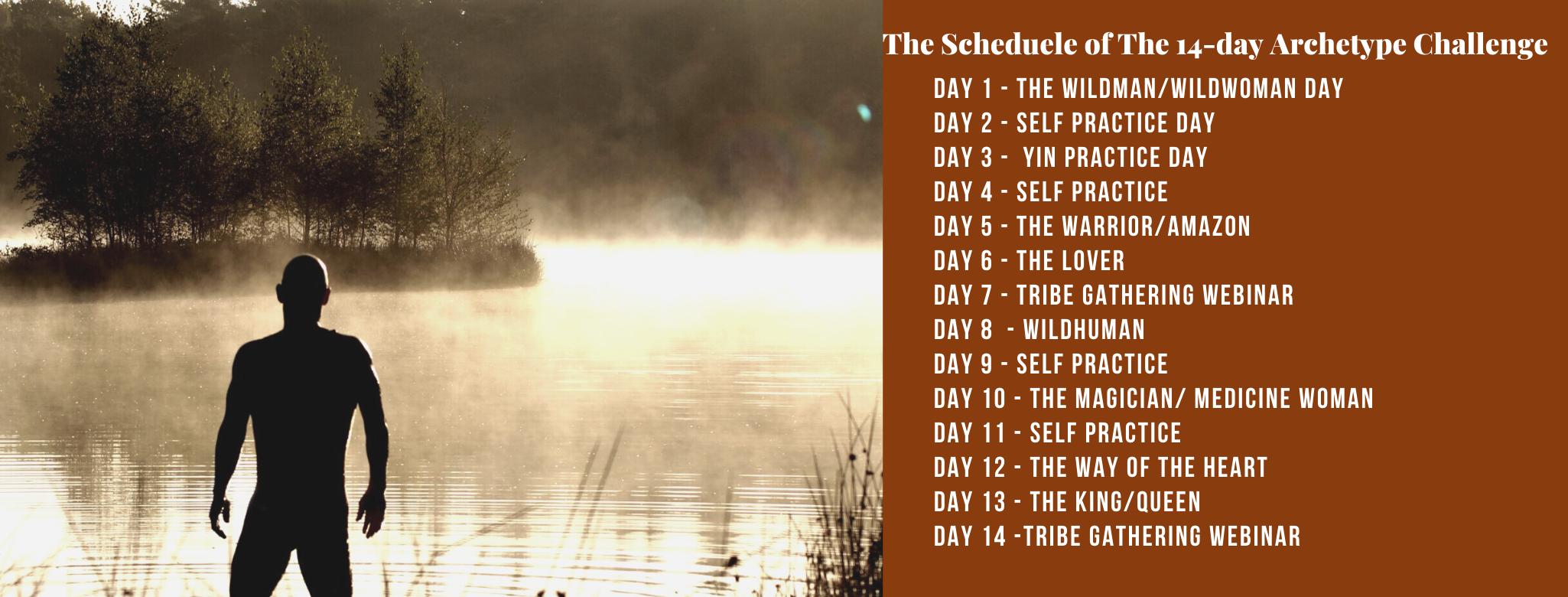 14-day scheduele