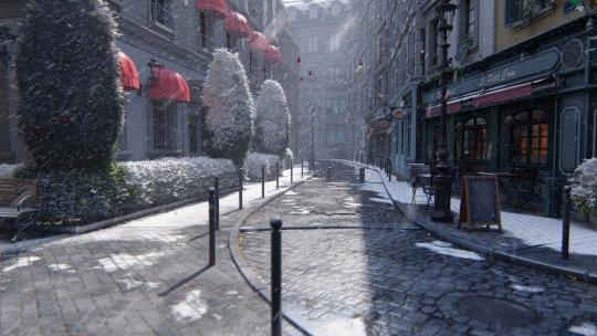 lumion 9 -sneeuw