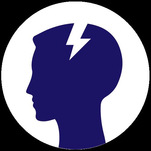 Icon Indikation Kopfschmerz / Migräne