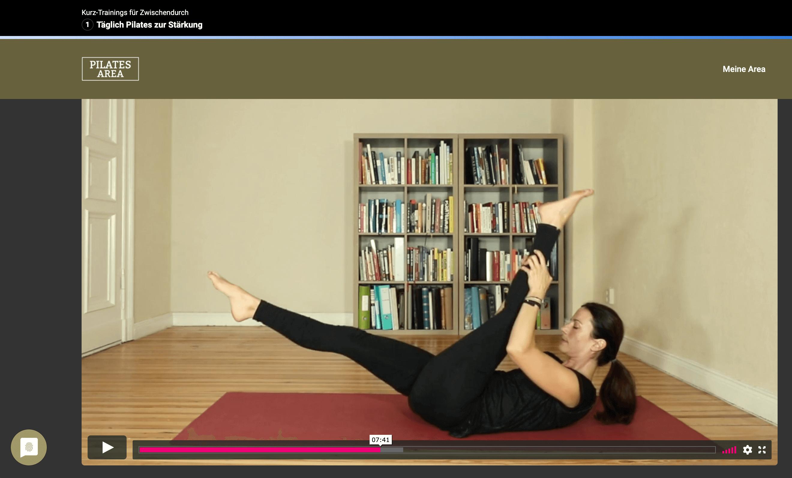 yoga pilates video courses